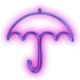 113919-glowing-purple-neon-icon-people-things-umbrella2